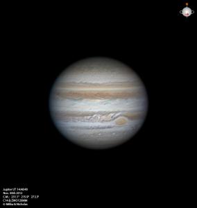 ASI120MM相机拍摄的木星高清照片