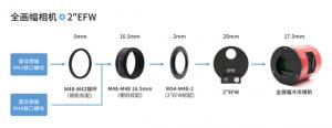 ASI6200MM Pro 55mm最佳后截距连接方式指南367