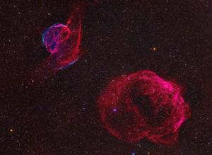 Sh2-223 & Sh2-224 御夫座超新星遗迹