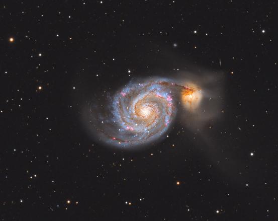 M 51 涡状星系