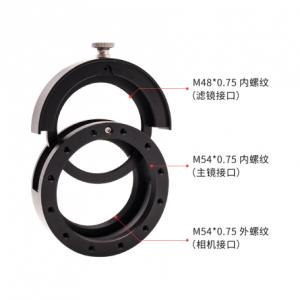 ASI6200MM Pro 55mm最佳后截距连接方式指南1086