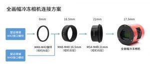ASI6200MM Pro 55mm最佳后截距连接方式指南1230