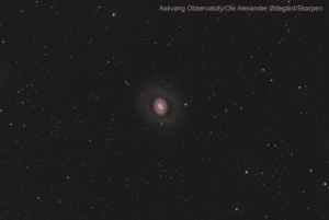 M94 猎犬座螺旋星系