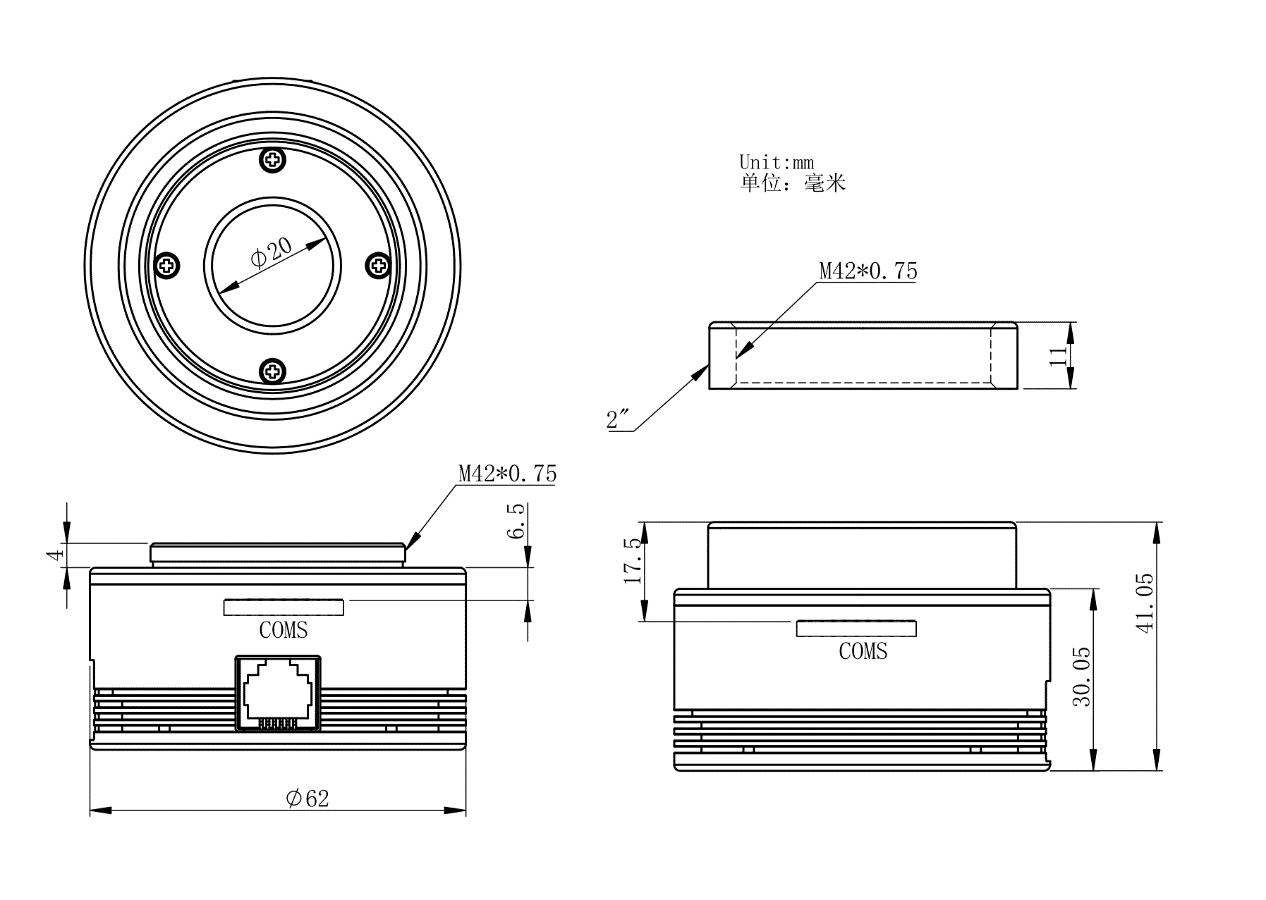 ASI485 结构尺寸图